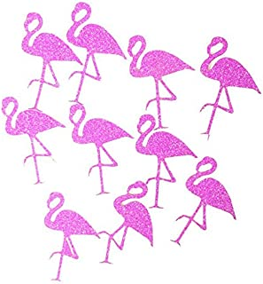 Astra Gourmet 100pcs Pink Flamingo Confettis | Beautiful Table Decorations and Favor for Flamingo Party Supplies | Flamingo Birthday Party | Flamingo Decor for Bridal and Baby Shower