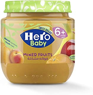 Hero Baby Mixed Fruits Jar, 125g
