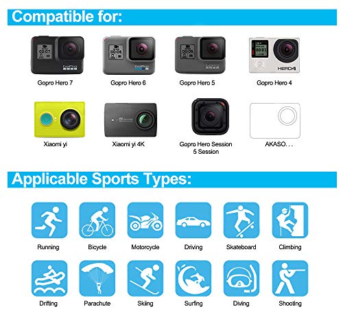 Product Image 2: 61 in 1 Action Camera Accessories Kit for GoPro Hero 9, 8, 7, 6, 5, and 4.