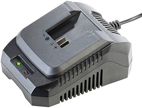 AGT Professional Zubehör zu Ladegerät Akkuschrauber: Schnell-Ladegerät AW-18.lg für Akkus der Serie AW-18 (Ladegerät für Akku-Werkzeug)