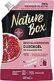 Nature Box Revitalisierendes Duschgel mit Granatapfel-Öl Nachfüllbeutel 500 ml