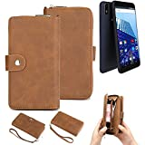 K-S-Trade® 2in1 Mobile Phone Wallet Case For Archos Access