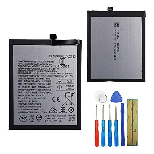 E-yiiviil Batería de repuesto HE363 compatible con Nokia 8.1 7.1 Plus TA-1119 TA-1128 con herramientas