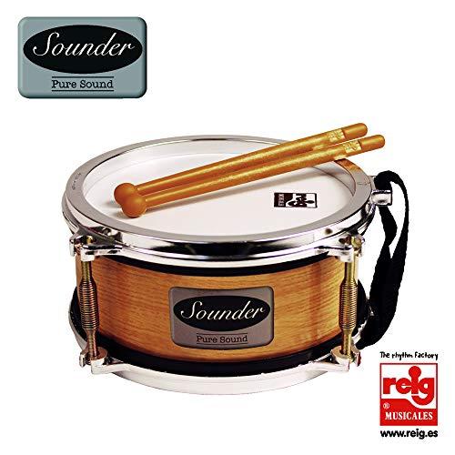 Claudio Reig 733 Sounder Metaliz - Tambor imitación a instrumentos reales, Tamaño...