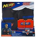 Nerf - Veste de rangement, 2 chargeurs (6 fléchettes) et 12 fléchettes Nerf Elite Officiels