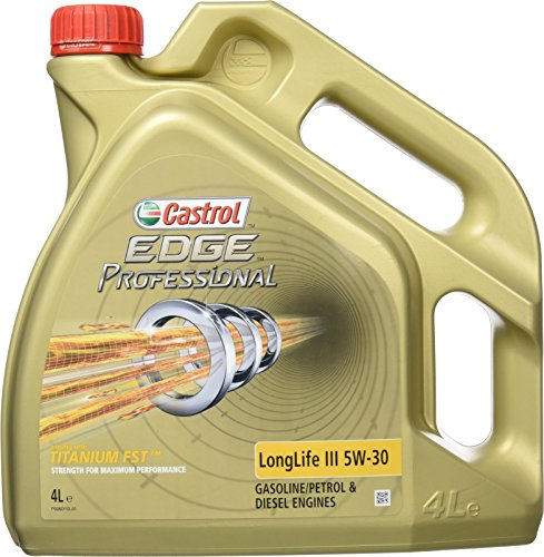 Castrol 57031-4 Aceite del Motor Edge Professional Titaniumfst LON, 4 l