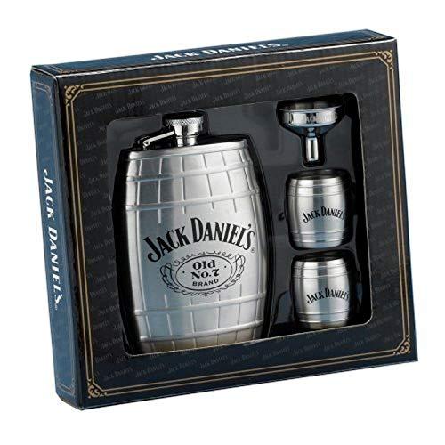 Jack Daniels Flachmann/Geschenkset