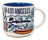 Starbucks Been There Serie Los Angeles Keramikbecher, 400 ml