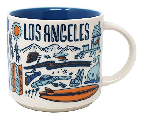Starbucks Been There Series Los Angeles Ceramic Mug, 14 Oz