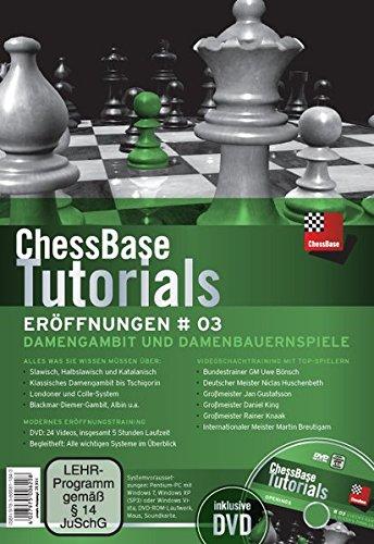 ChessBase Tutorials: Eröffnungen 3: Videoschachtraining:Damengambit und Damenbauernspiele