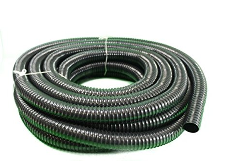 HeRo24 Teichschlauch Spiralschlauch für Bachlauf und Teiche 40 mm 10 m lang