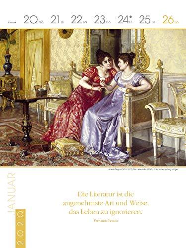 Literaturkalender Frauen lieben Lesen 2020: Literarischer Wochenkalender - 5