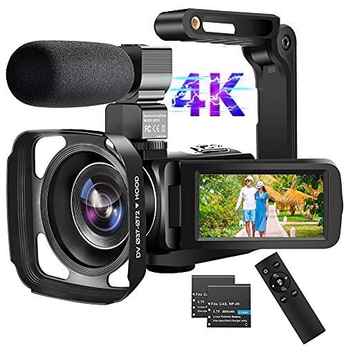 WiFi Videocámara Camara de Video 4K 56MP...