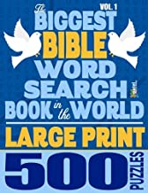 The Biggest Bible Word Search Book in the World (LARGE PRINT): 500 Puzzles