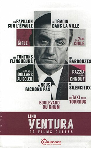 Coffret Lino Ventura 12 films Edition spéciale