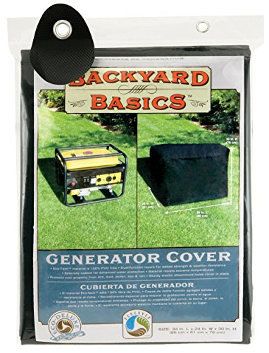 Backyard Basics Generator Cover, 34 x 24 x 30 Inch