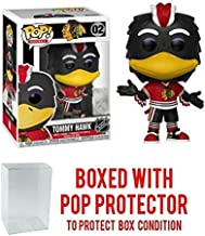 POP! Sports NHL Mascots Tommy Hawk Chicago Blackhawks Action Figure (Bundled with Pop Shield Protector to Protect Display Box)