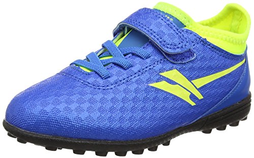 Gola Sparta Vx, Jungen Fußballschuhe, Blau (Blue/volt), 24 EU (7 UK)
