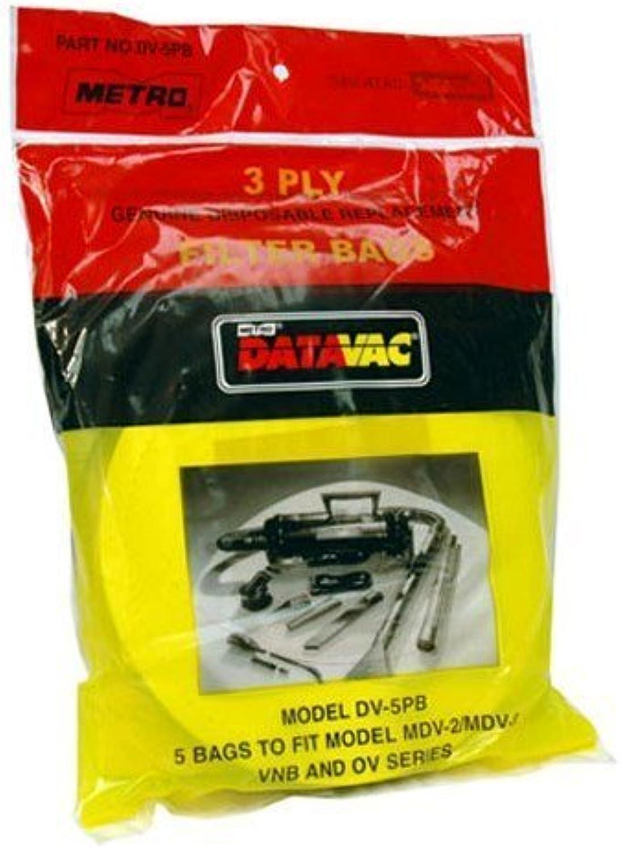 METROVAC DV5PB REPL DUST BAGS PK 5 METRoVAC (DV5PB) (DV5PB) (DV5PB) -2 pack by METROVAC B0186ITL4S | Neues Design  9b524b