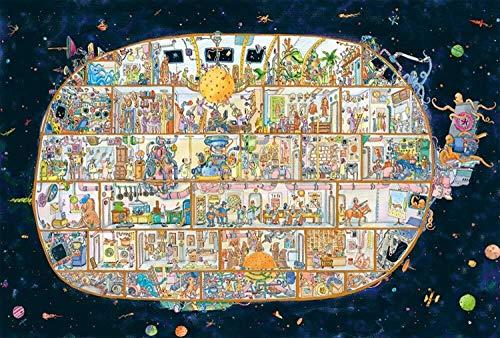WWW Puzzles Big Fish City Holz 500 1000 1500 Stück Adult Puzzle Kinder Lernspielzeug ( Color : 4000pieces )