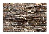 - 1 Muster - W-004 Schiefer Modul Wandverkleidung Naturstein Wandverblender Mauerverkleidung Klinker Natural Stone Wall Cladding - Fliesen Lager Verkauf Stein-Mosaik Herne NRW