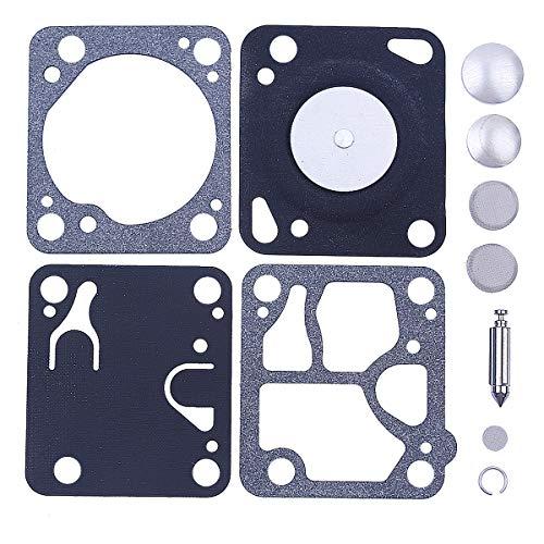 Adefol Junta de reconstrucción del carburador Kit para Motosierra Walbro K1-MDC McCulloch Mini Mac 140130120110