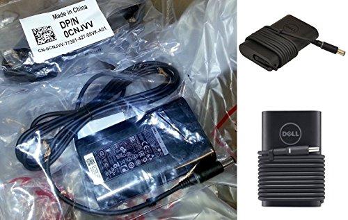 Original Dell PA de 12PA12AC Fuente de alimentación/cargador tipo plano para Laptop DELL Chromebook 11, Inspiron 14(3437), Inspiron 14R (5437), Inspiron 15(3537), Inspiron 153000Series (3552), Inspiron 157000Series (7537), Inspiron 15R (5537), Inspiron 17(3737), Inspiron 177000Series (7737), Inspiron 17R (5737), Latitude (3450), Latitude 12(7204), Latitude 14(7404), (E5470) SKL de U, (e7470) SKL de U, Latitude 15(e5570) SKL de U–con 12meses de garantía. Europa Incluye cable de alimentación.