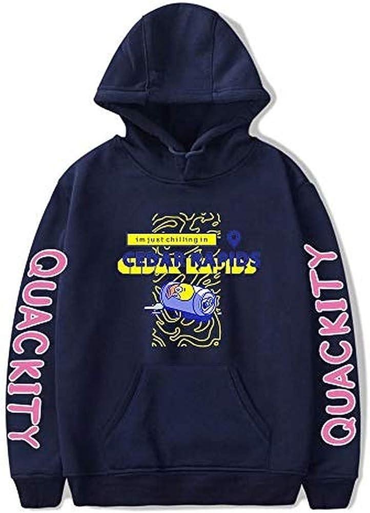 Genuine Free Shipping Quackity Direct stock discount Merch Habibi Duck Men's Uniform Hoodie Women's