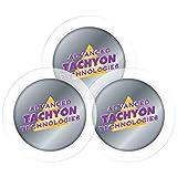 35mm Tachyonized Micro-Disks 3-Pack - Tachyon Healing & Energy Enhancer - Powerful Body Treating Disks