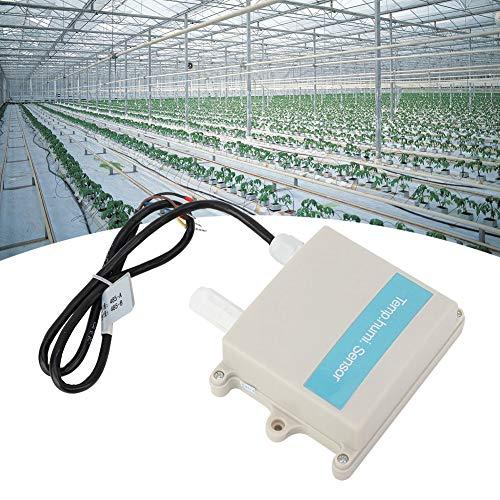 QITERSTAR Sensor de Temperatura de Humedad ABS, Sensor de Humedad, para invernaderos agrícolas de Cultivo de Flores