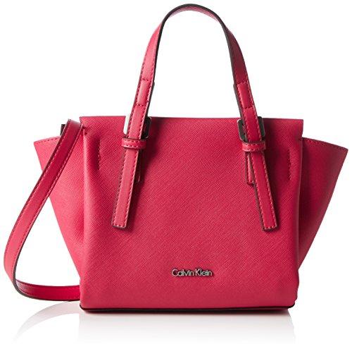 Calvin Klein M4RISSA Mini Tote, Bolsa para Mujer, Rosa (Bright Rose) 18x10x32...