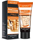 Hot Cream Fat Burner,Abdominal Muscle Cream,Anti-cellulite Treatment Body Slimming Cream for Muscle Relaxation,Belly,Tummy,Waist,Legs,Thighs,Buttocks,Apply