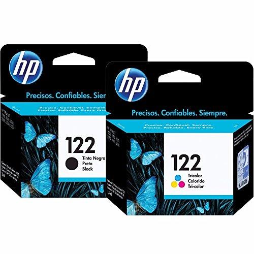 Kit de Cartuchos de Tinta - HP Suprimentos CH561HB HP 122 Preto 2ml + CH562HB HP 122 Tricolor 2ml