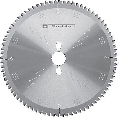 Stehle HW NE-Negativ NE Kapp-Kreissägeblatt 250x3,2/2,5x30mm Z=80 Trapez-Flachzahn