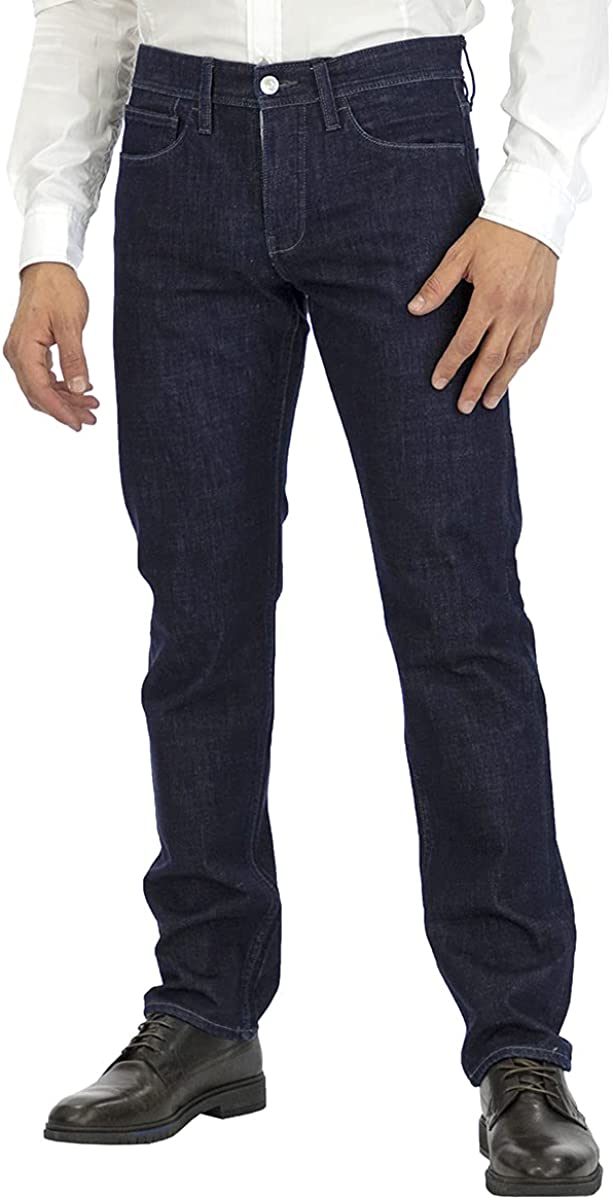 A X Armani Exchange Men's Slim High quality new Fit Rinse Denim Pocket Blue 5 Popular popular 32