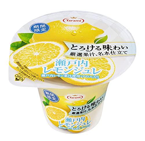たらみ とろける味わい厳選果汁 名水仕立て 瀬戸内レモンジュレ 210g ×6個