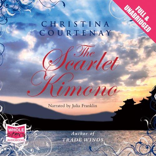 The Scarlet Kimono audiobook cover art