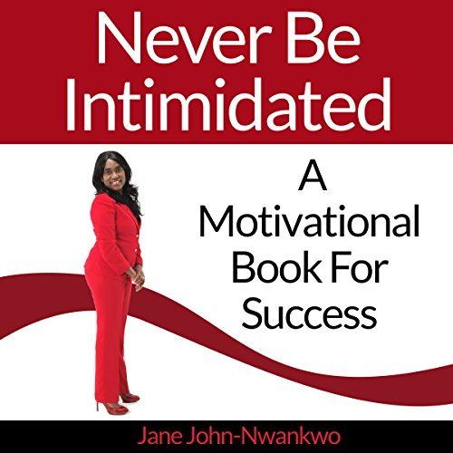 Never Be Intimidated audiobook cover art