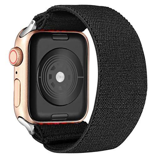Correa para reloj Apple de 40 mm, 38 mm, 44 mm, 42 mm, patrón étnico bohemio, elástico y elástico para iWatch Series 6, SE, 5, 4, 3, 2, 1