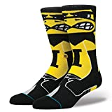 Stance Mens Herky Socks Large Black
