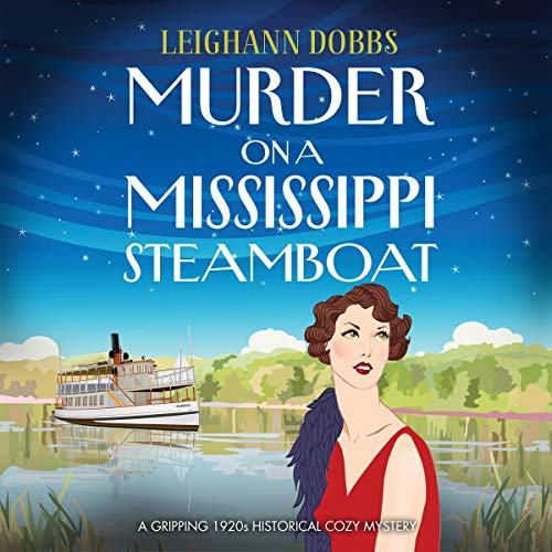 Couverture de Murder on a Mississippi Steamboat