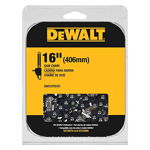 DEWALT DWO1DT616T Chain, Black