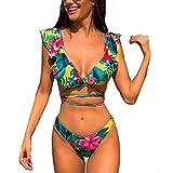 CheChury Mujer Sexy Conjunto De Bikini 2020 Verano Sexy Push Up Ropa De Playa Bikini de Triángulo Bikini Mujer Acolchado Traje de baño Mujer Conjunto De Bikini