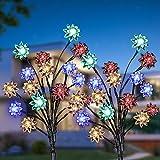 Luce Solare Giardino, KagoLing Giardino Decorazione Solare Luce Con Impermeabile IP65 Luce...