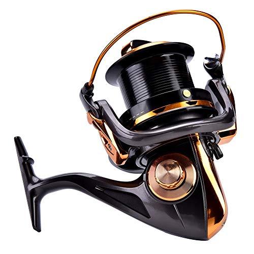 Mulinello da Pesca per colata, Mulinello per Pesca Metallico Mulinello Economico Mulinelli per la Pesca in Mare Rotante Accessori per Attrezzatura da Ruota(#4)