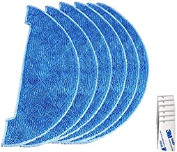 Household Articles XI272 6 PCS I262 Cleaning Rag + 6 PCS G604 Magic Adhesive Sticker for ILIFE V8 / V8S / X750 Household A...
