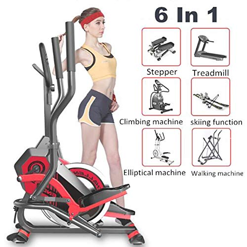 Great Deal! ZHANGY Elliptical Trainer Stationary Bicycle Exercise Bikes for Home Gym Crosstrainer El...