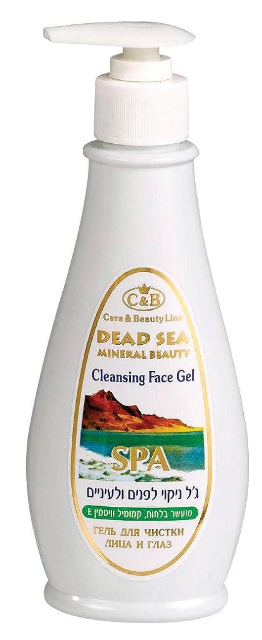 はっきりしない気晴らし飛躍眼とお顔の洗浄ジェル 250mL 死海ミネラル ( Cleansing Gel for eyes and face