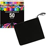 US Art Supply 50 Piece Adult Coloring Book Artist...