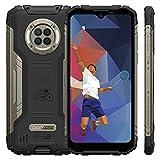 DOOGEE S96 Pro IR Nachtsicht Outdoor Handy, 8GB RAM + 128GB ROM, Helio G90, 48MP Quad Kamera, 6350 mAh, 6.22 Zoll Smartphone Ohne Vertrag, Android 10, IP68 Wasserdichter, NFC, GPS (Schwarz)